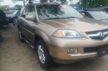 Sell gold 2006 Honda Acura MDX suv / crossover at mileage 0 in Lagos