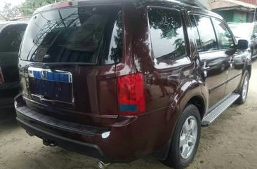Foreign Used Honda Pilot 2010 Model Brown for Sale