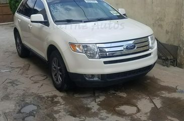 Tokunbo 2008 Model Ford Edge Cream Color