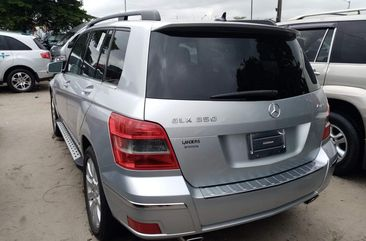 Foreign Used Mercedes Benz GLK350 2010 Model Silver for Sale