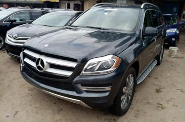 Foreign Used Mercedes-Benz GL450 2014 Model Black