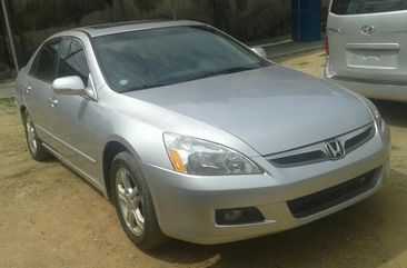 Foreign Used Honda Accord V6 2006 Model Silver