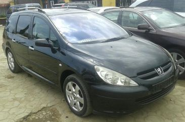 Clean Foreign Used Peugeot 307 2004 Model Black