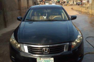 Nigeria Used Honda Accord 2009 Model Black for Sale