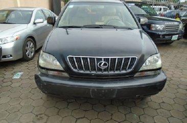 Fairly Nigerian Used Lexus RX300 2003 Model Black for Sale