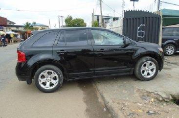Nigeria Used Ford Edge 2012 Model Black for Sale in Lagos