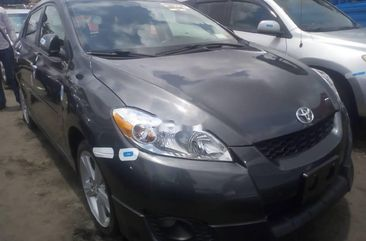 Foreign Used Toyota Matrix 2010 Model Grey/Silver