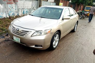 Nigerian Used Toyota Camry 2007 Model Gold