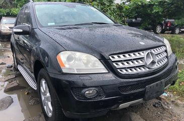 Foreign Used 2006 Mercedes Benz ML350 Black for Sale