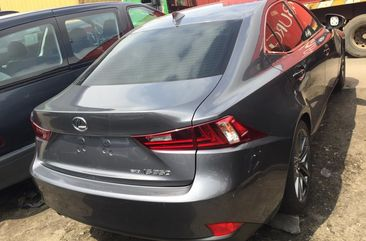 Foreign Used Lexus IS250 2014 Model Silver for Sale