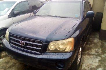 Foreign Used Toyota Highlander 2003 model