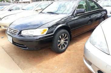 Nigerian Used Toyota Camry 2002 Model Black