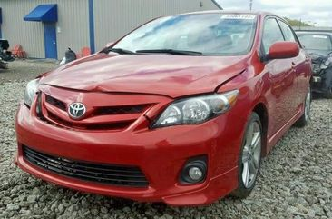 Toyota Corolla for Sale in Lagos 2013 Red Tokunbo