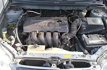 Nigeria Used Toyota Corolla 2004 Model Grey
