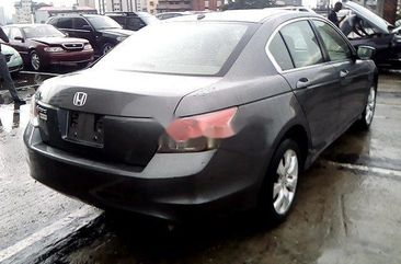Nigeria Used Honda Accord 2009 Model Grey