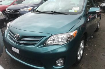 Foreign Used Toyota Corolla Foreign 2010 Model Green for Sale