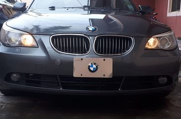 Foreign Used BMW 530i 2007 Model Grey for Sale