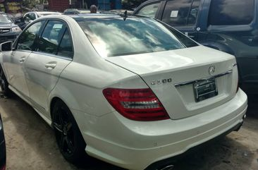 Mercedes Benz C300 2014 Model Foreign Used White