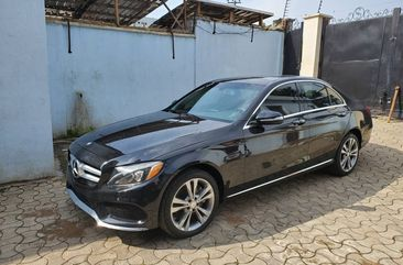 Mercedes Benz C300 2015 Model Luxury Foreign Used Black