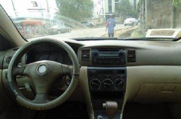 Nigeria Used Toyota Corolla 2007 Model Red