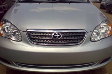 Foreign Used Toyota Corolla 2005 Model Silver for Sale