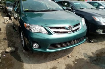 Foreign Used Toyota Corolla LE 2011 Model Green for Sale