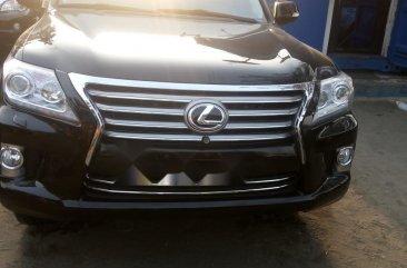 Foreign Used Lexus LX 2015 Model Black