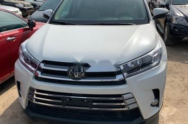 Foreign Used Toyota Highlander 2018 Model White