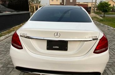 Foreign Used Mercedes-Benz C300 2017 Model White