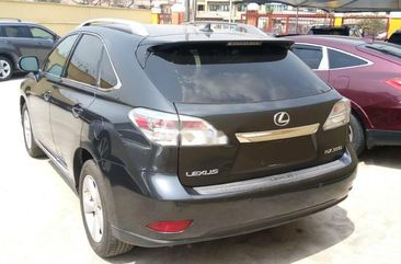 Foreign Used Lexus RX 2011 Model Gray