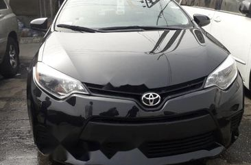 Foreign Used Toyota Corolla 2015 Model Black