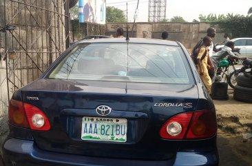 Nigerian Used Toyota Corolla Sport  2002 Model