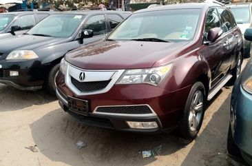 Foreign Used Acura MDX 2010 Model Brown for Sale