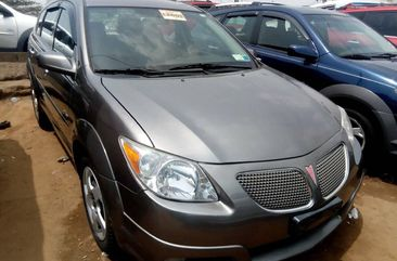 Foreign Used Pontiac Vibe 2005 Model Gray