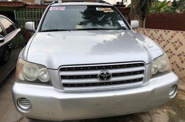 Foreign Used Toyota Highlander 2002 Model