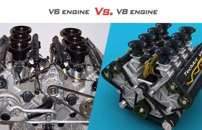 V6 engine vs. V8 engine: Is the V8 worth the hype?