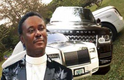 Sneak peek of Pastor Chris Okotie cars