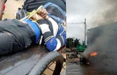 Outrage as soldier allegedly kills bike man over ₦100 bribe in Aba