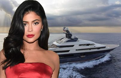 Kylie Jenner pays ₦62m per day to rent this superyacht for her birthday week on Mediterranean