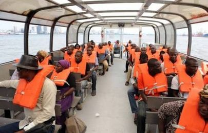 How much does it cost to board a ferry in Lagos?