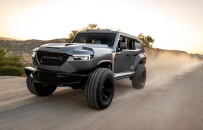 Samson rooaarr! The 2020 Rezvani Tank emerges as the most powerful SUV on the planet!