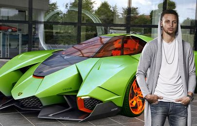 Luxury vehicles in the NBA star, Steph Curry's car collection