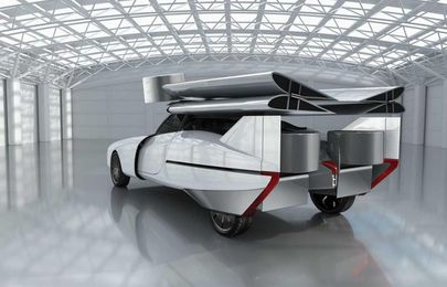 Meet Aska - the Flying Concept Car that is a Car, a Plane & a Helicopter!