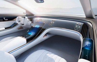 Let's enjoy the futuristic lush interior of Mercedes-Benz EQ Concept [Photos]