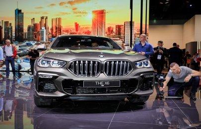2019 Frankfurt Motor Show: BMW reigns supreme among SAVs with the 2020 BMW X6 M50i