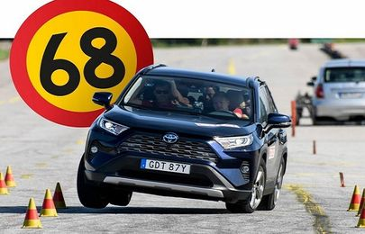 Toyota's response to the woeful performance of all-new RAV4 during Avoidance maneuver test