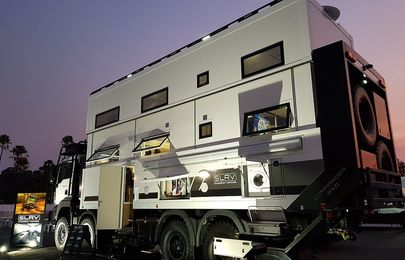 The $2m Commander 8X8 Super-Truck Motor-home looks like a mansion!