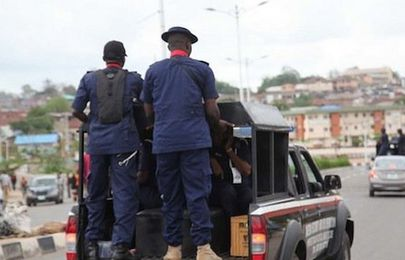 NSCDC arrests fake revenue consultant with 150 number plates in Niger