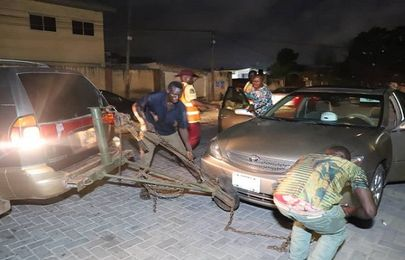 29 vehicles impounded in Ikoyi/VI late night clean up exercise