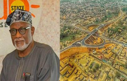 [Photos] See the newly completed Fly-Over Bridge that will be the first in Ondo State